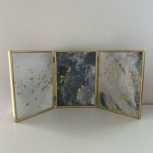 Other - Marble paintings with vintage gold frame.